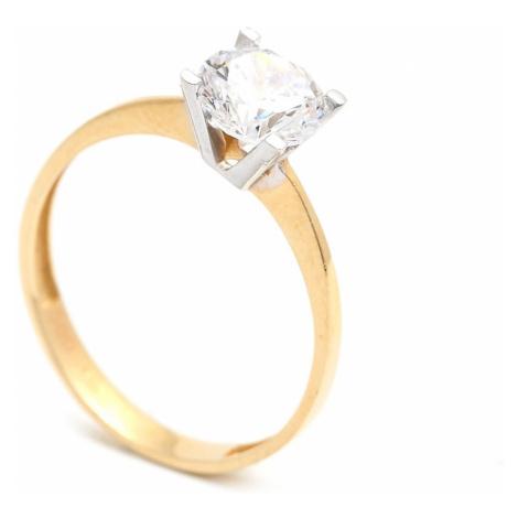 Zlatý zásnubný prsteň CONCHITA