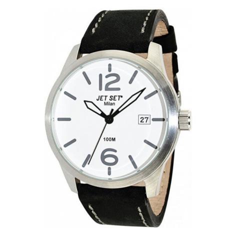 Jet Set Analogové hodinky Milan J63803-257 s vodotěsností ATM