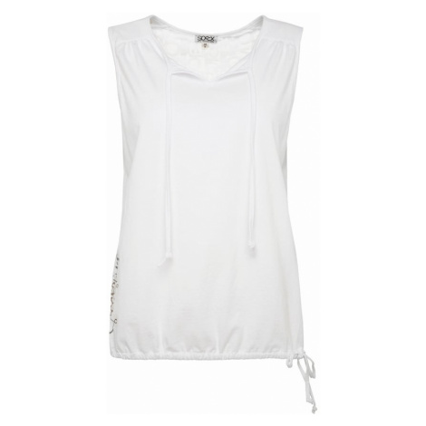 Soccx Tričko  biela