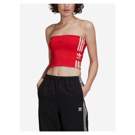 Body adidas Originals Tube Top Červená