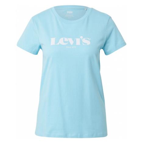 LEVI'S Tričko  tyrkysová / biela Levi´s