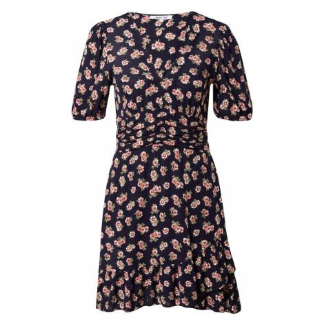 ABOUT YOU Letné šaty 'Emma'  zmiešané farby / námornícka modrá