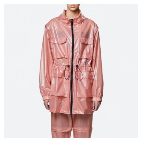 Rains Ultralight Zip Off Parka 1846 SHADOW BLUSH