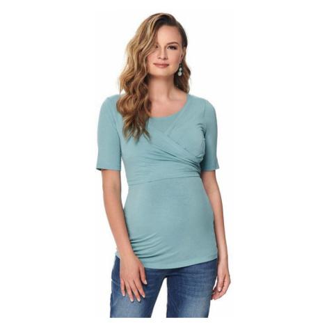 Zelená tehotenské tričká, tielka a blúzky