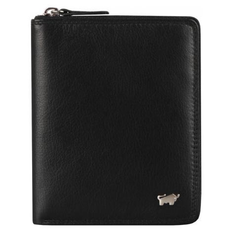 Braun Büffel Pánska kožená peňaženka Golf 2.0 90452-051 - černá