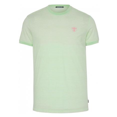 CHIEMSEE Funkčné tričko  biela / svetlozelená