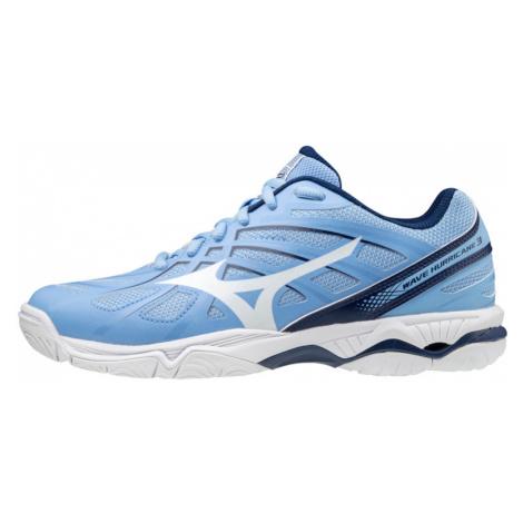 Dámska halová obuv Mizuno Wave Hurricane 3 Blue