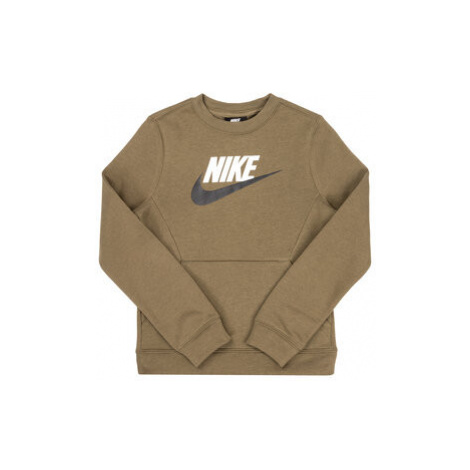 Nike Mikina Club Fleece BV0785 Zelená Standard Fit