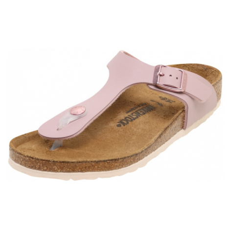 BIRKENSTOCK Otvorená obuv 'Gizeh'  staroružová