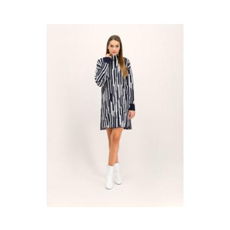 Sportmax Code Úpletové šaty Baltico 73260195 Tmavomodrá Regular Fit