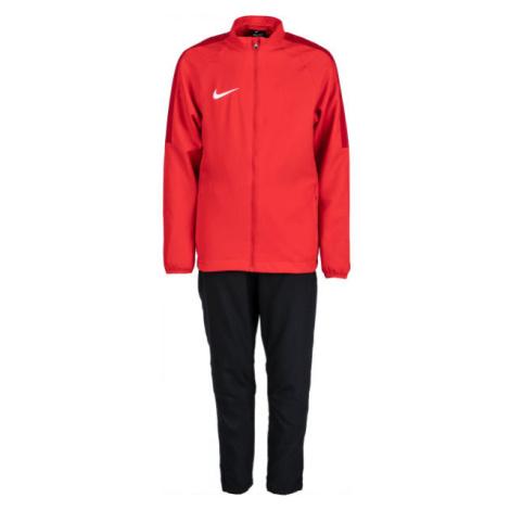 Nike DRY ACDMY18 TRK SUIT W Y červená - Chlapčenská futbalová súprava