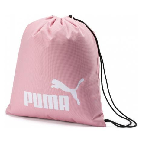 Puma - Ružový vak Puma Phase Gym Sack