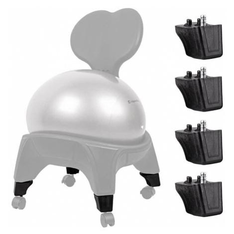 Nástavce pre balónovú stoličku inSPORTline EGG-Chair 4 ks