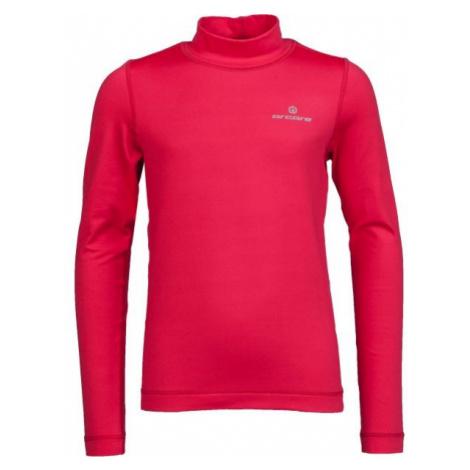 Arcore ZARKO ružová - Detské funkčné tričko s dlhým rukávom