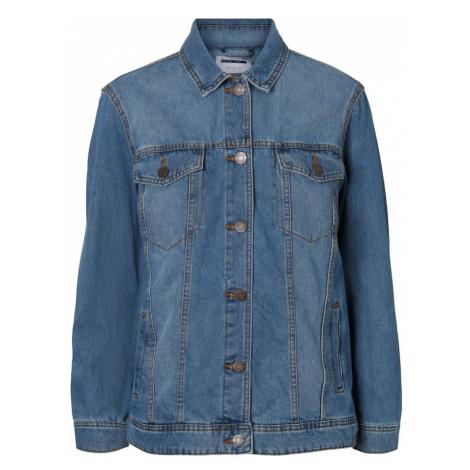 Noisy may Prechodná bunda  modrá denim