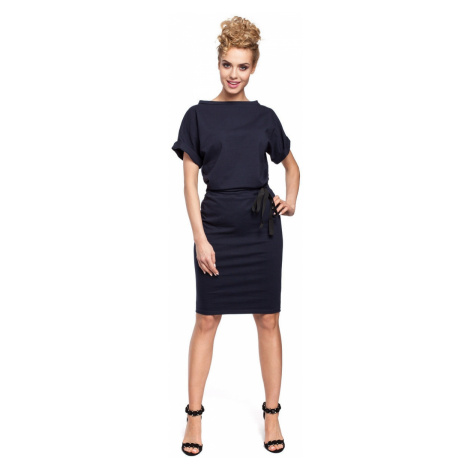 Made Of Emotion Woman's Dress M284 Navy Blue