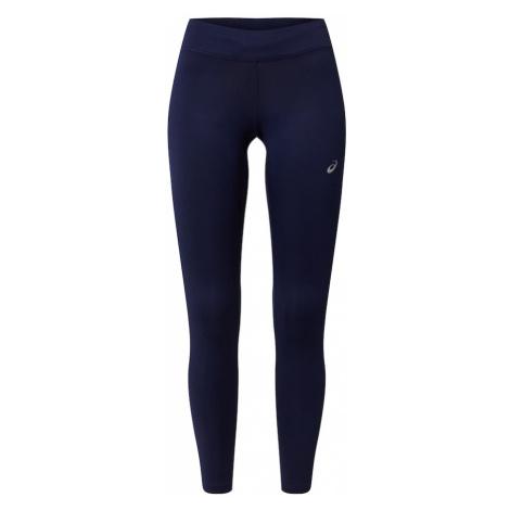 ASICS Športové nohavice 'Silver'  námornícka modrá