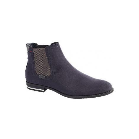 Modré pánske chelsea boots