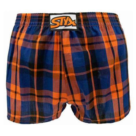 Children´s shorts Styx classic rubber multicolored (J826)