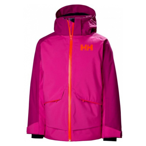 Helly Hansen JR STARLIGHT JACKET fialová - Detská lyžiarska bunda