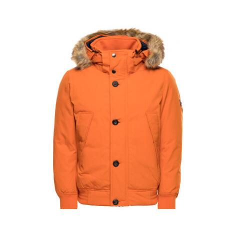Tommy Hilfiger Vatovaná bunda Down Filled MW0MW11502 Oranžová Regular Fit