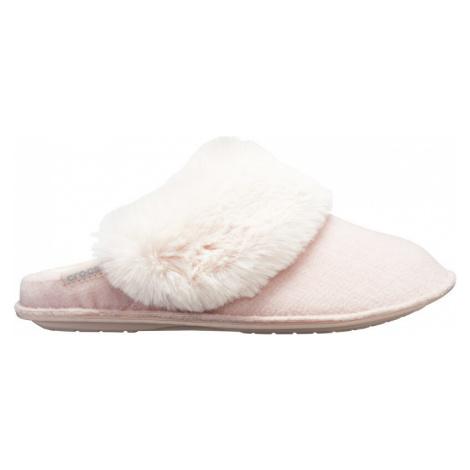 Crocs Dámske šľapky Clasic Luxe Slipper Rose Dust 205394-60D 36-37