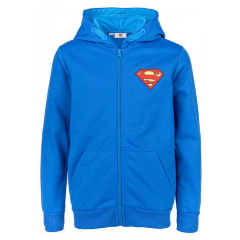 Warner Bros HERO JNR SUPER modrá - Chlapčenská mikina