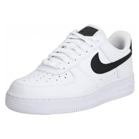 Nike Sportswear Nízke tenisky 'Air Force 1'  biela / čierna
