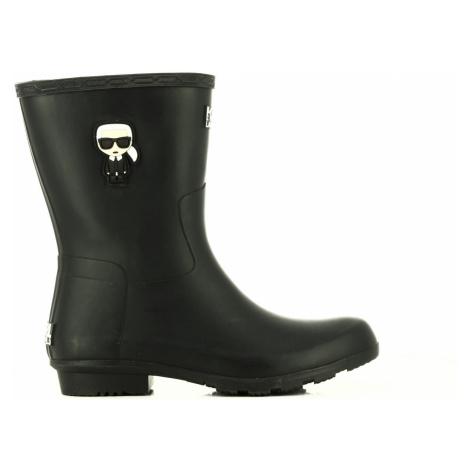 Gumáky Karl Lagerfeld Kalosh Ikonic Midi Boot