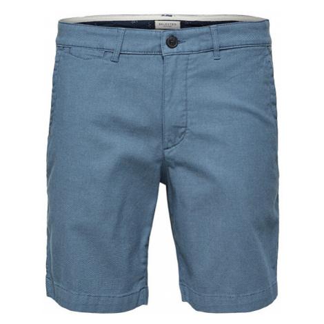SELECTED HOMME Pánske kraťasy Straight-Chris Shorts W Camp Blue Shadow