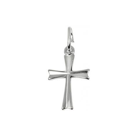 Brilio Zlatý prívesok krížik 001 17