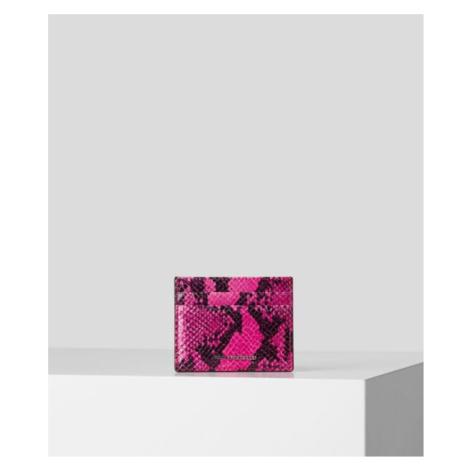 Púzdro Na Platobné Karty Karl Lagerfeld K/Karl Seven Snake Classic Ch