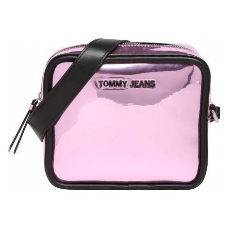 Tommy Jeans Kabelka na rameno  ružová / čierna Tommy Hilfiger
