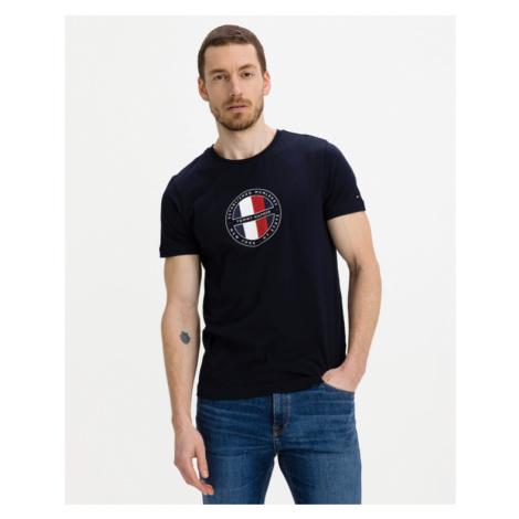 Tommy Hilfiger Circular Logo Tričko Modrá