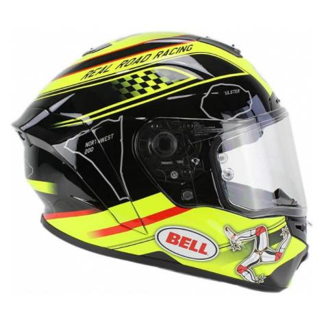 Moto helma BELL Star Isle Of Man black-yellow Farba čierno-žltá