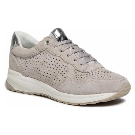 Sneakersy GEOX - D Airell B D022SB 00022 C1010 Lt Grey