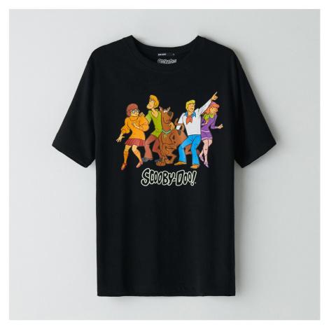 Cropp - Tričko Scooby-Doo - Čierna