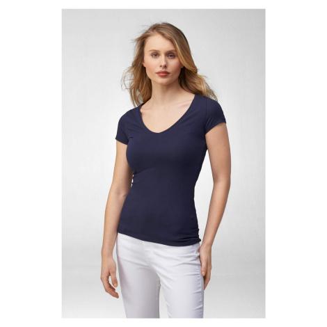 Obtiahnuté tričko z bavlny Orsay