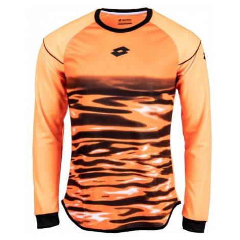 Lotto JERSEY LS CROSS GK oranžová - Pánsky brankársky dres