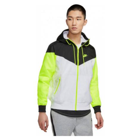 Nike NSW HE WR JKT HD M biela - Pánska bunda