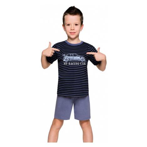 Chlapčenské pyžamo s autom Max prúžky Taro