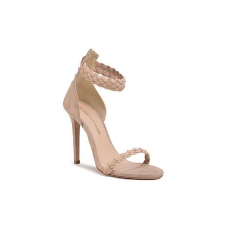 Trussardi Jeans Sandále 79A00523 Béžová