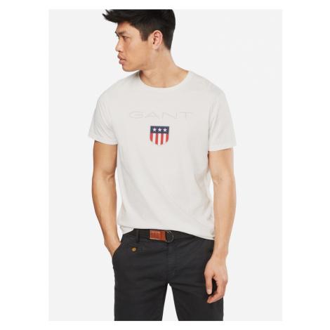 GANT Tričko  tmavomodrá / sivá / červená / biela