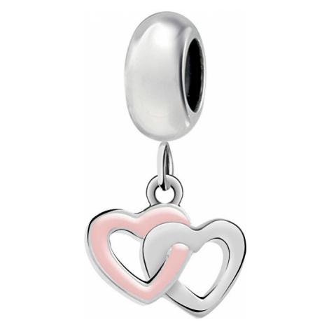 Morellato Srdiečkový prívesok Drops intertwine Hearts SCZ953