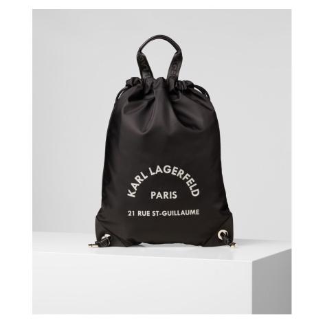 Batoh Karl Lagerfeld Rue St Guillaume Flat Backpack