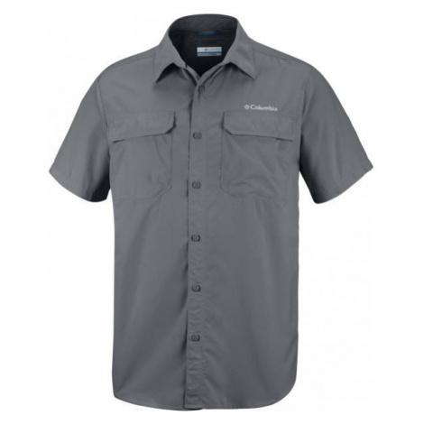 Columbia SILVER RIDGE II SHORT tmavo sivá - Pánska outdoorová košeľa