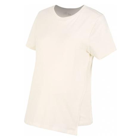 BOOB Tričko  krémová