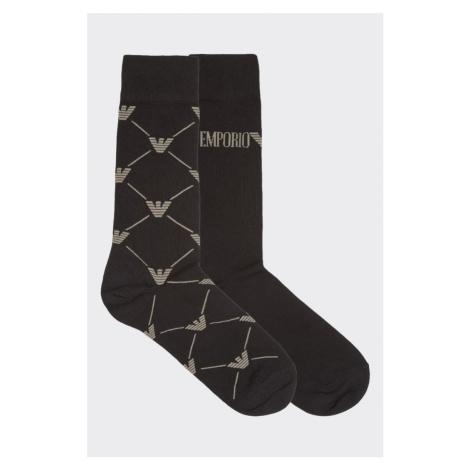 Emporio Armani Underwear Emporio Armani casual 2-balenie pánskych ponožiek - čierna