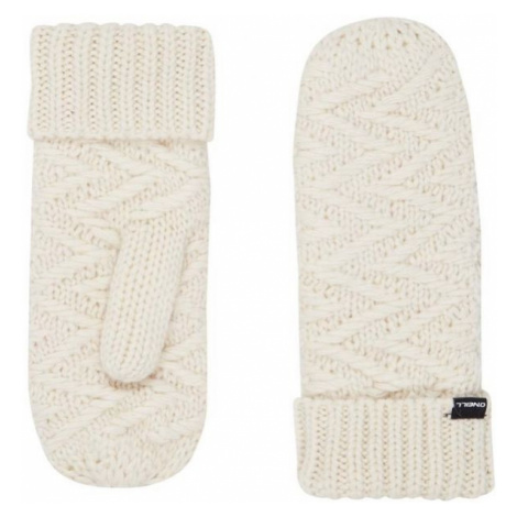 O'Neill BW NORA WOOL MITTENS biela 0 - Dámske zimné rukavice