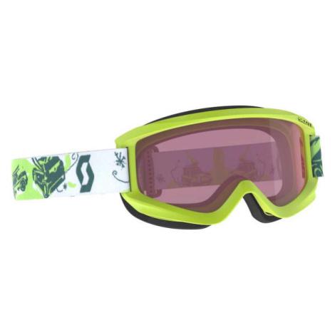 Scott JR AGENT zelená - Detské lyžiarske okuliare